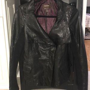 Daniel black leather jacket